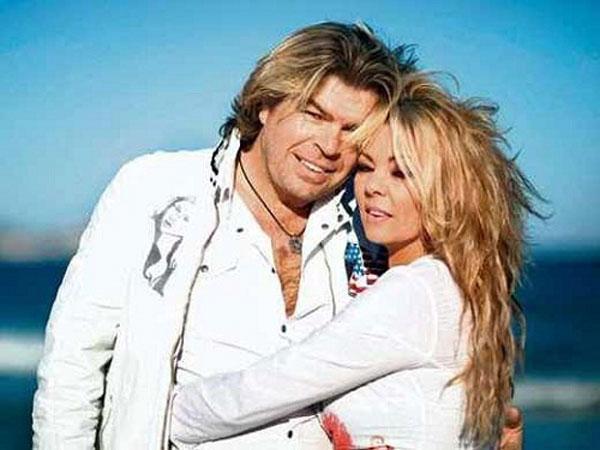 Сандра со своим вторым мужем Олафом Менгесом