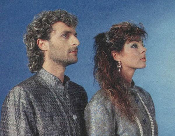 На фото певица со своим мужем Мишелем Крету
