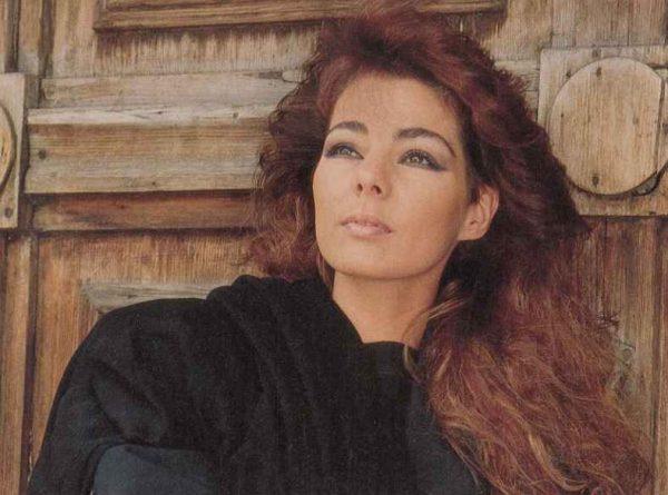 Певица Сандра в молодости