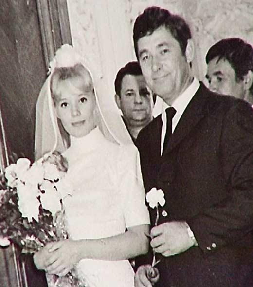 Свадебное фото Людмилы и В.