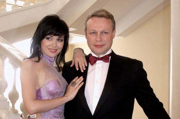 С актрисой Анастасией Заворотнюк