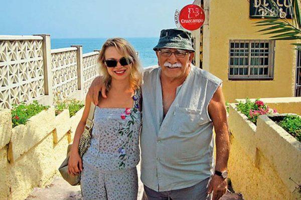Виталина и Армен Борисович на отдыхе
