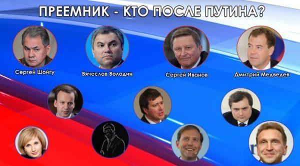 Кто будет приемников Владимира Путина