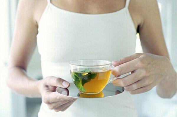 Регулярно употребляя зеленый чай можно похудеть