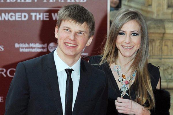 С первой гражданской женой Юлией Барановской