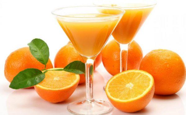 В апельсинах содержится большое количество витамина С
