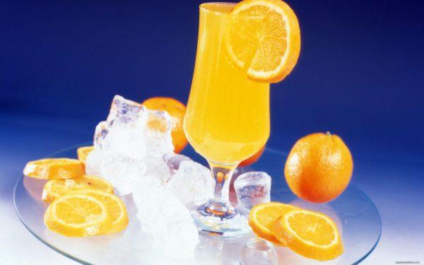 Вкусный и полезный апельсиновый сок