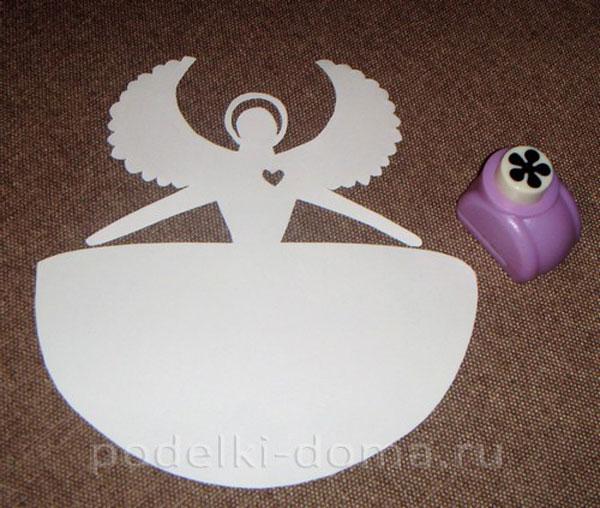 Ангел из бумаги фото 2