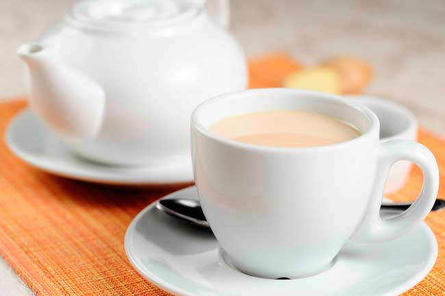 Чай с молоком, фото