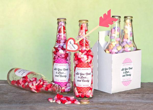 Сладкие подарки на День Святого Валентина