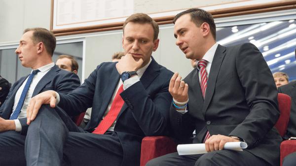 Александр Навальный известный политик
