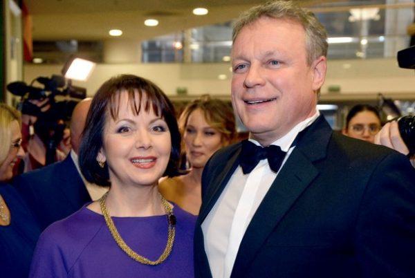 Актер со своей женой Верой