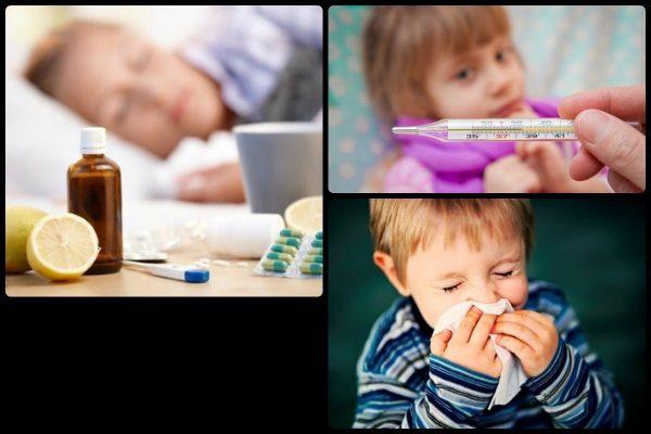 Зеленые сопли могут возникать у ребенка при простудных заболеваниях