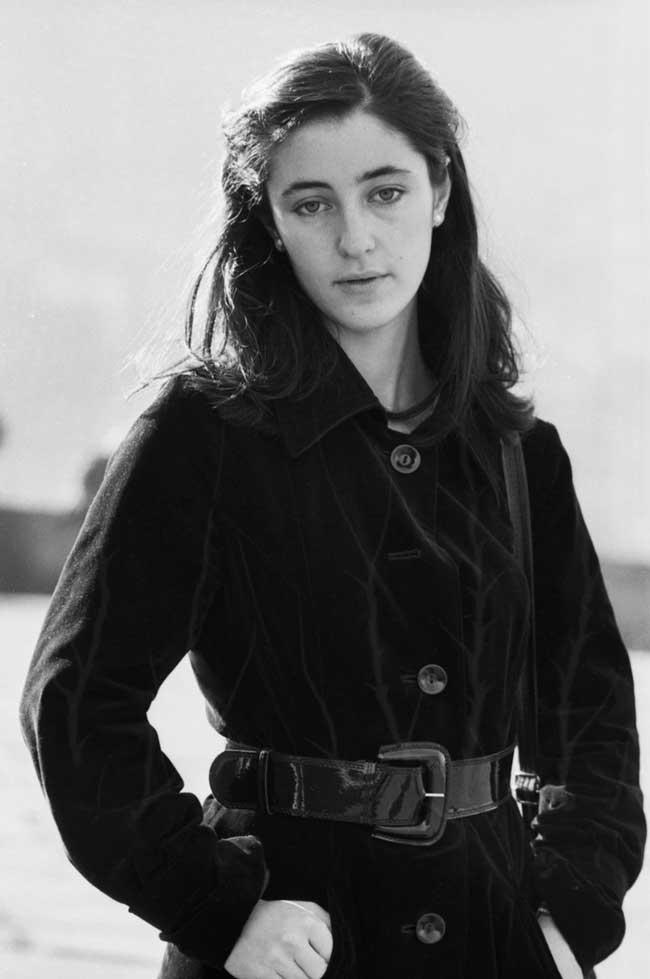 Тамара Гвердцители в молодости