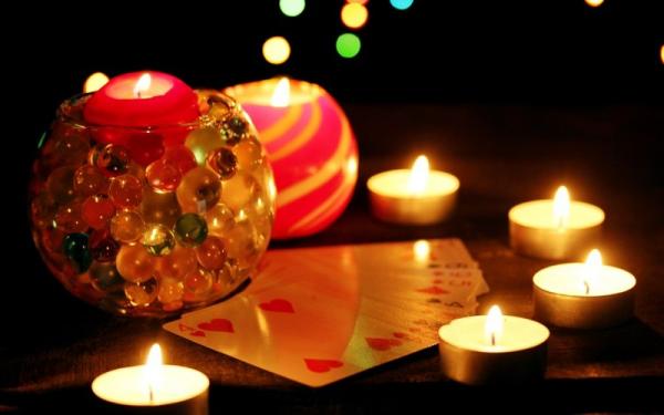 Гадание на Рождество при помощи карт