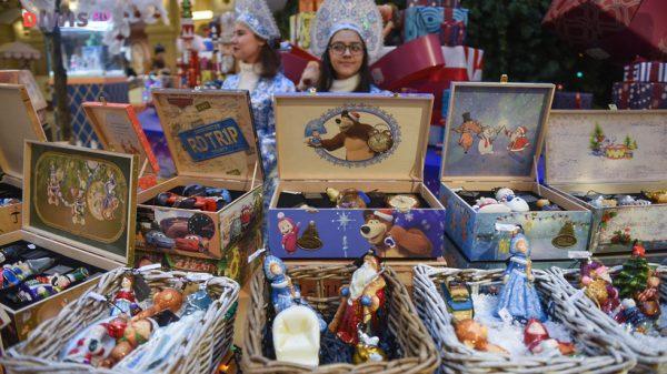 Потрясающий праздник пройдет в ГУМе с 30 ноября по 28 февраля