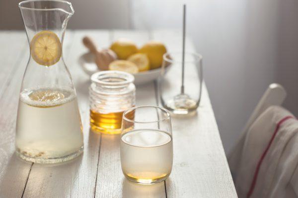 Вода с лимоном освежающий напиток