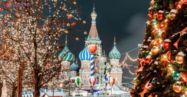 Самые интересные бесплатные мероприятия в Москве на Новый год 2019