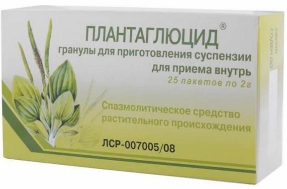 Препарат Плантаглюцид