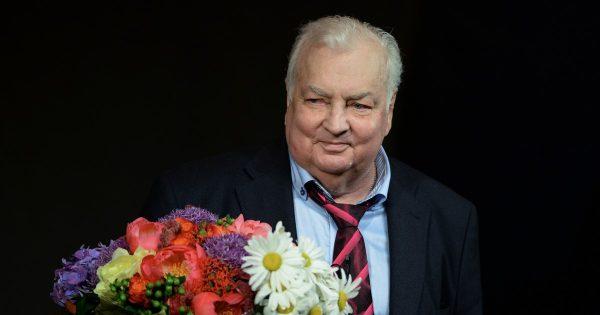 Народный артист и сатирик М. Державин