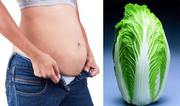 Китайская капуста поможет похудеть