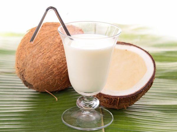 В кокосовое молоко входит полезная для организма клетчатка