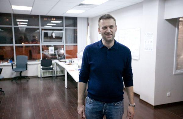 """Алексей Навальный в офисе """"Фонда борьбы с коррупцией"""""""