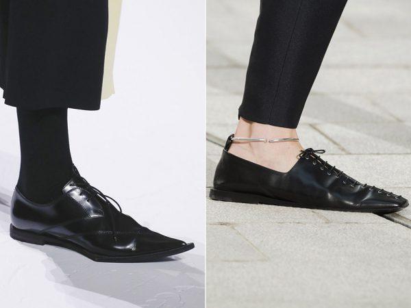 Туфли в маскулинном стиле