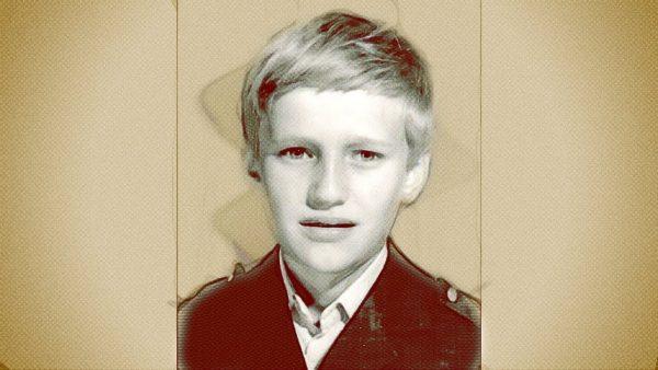 Навальный в детстве