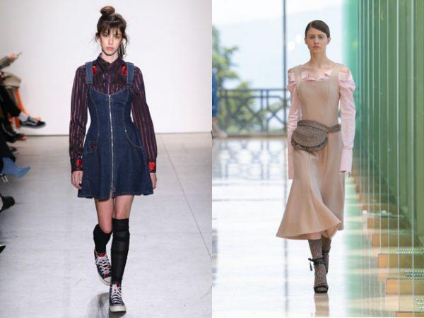 Сарафаны 2018 года для офиса: модные тенденции, фото новинки