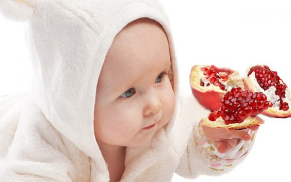 Вредны ли косточки граната детям