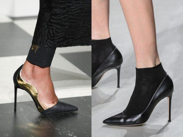 Модные классические туфли