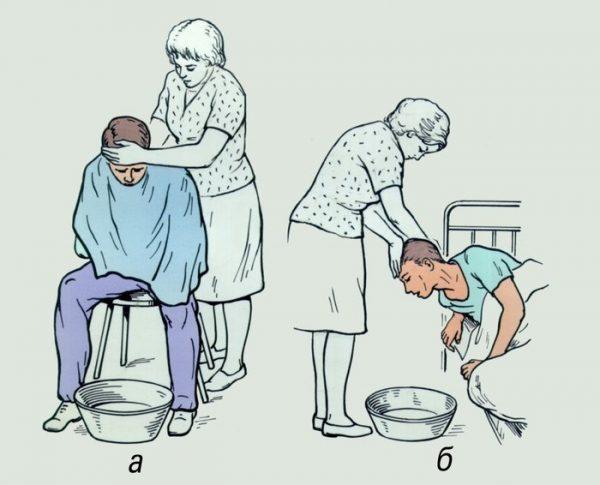 Нужно промыть желудок больному в домашних условиях