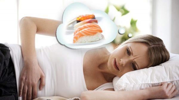 Отравление пищей может привести к выкидышу во время беременности