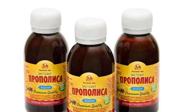 Настойка прополиса на спирту обладает антибактериальными свойствами
