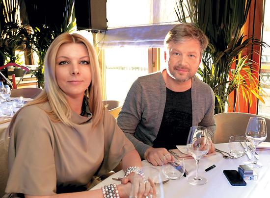 Со второй супругой Светланой