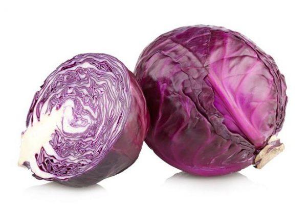 В красной капусте содержится большое количество витамина К