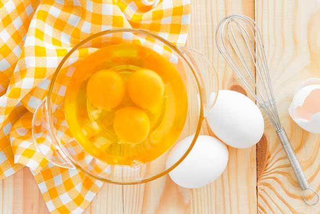 Яйца имеют большое количество питательного белка