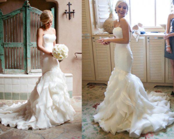 Свадебные платья с пышным подолом