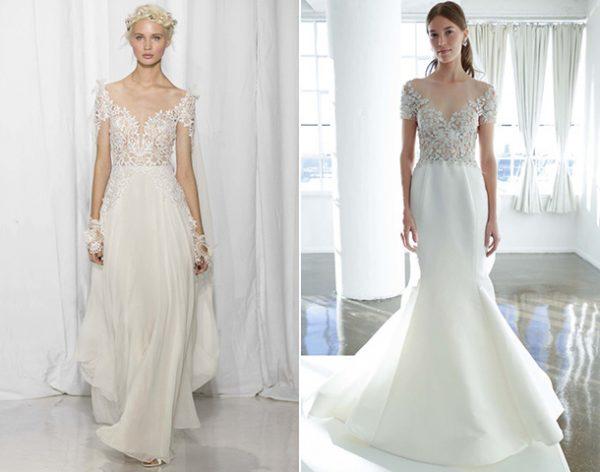 Свадебные платья русалка