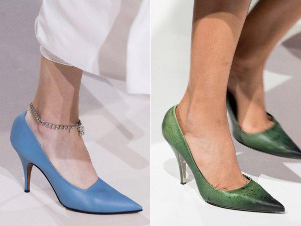 Модные туфли лодочки