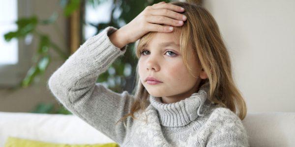 Ребенок может жаловаться на боль в голове