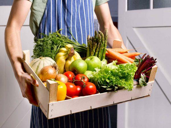 Включите в рацион больше свежих овощей
