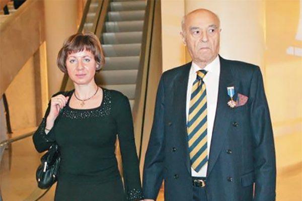 Владимир Этуш со своей женой Еленой