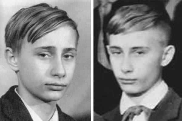 Владимир Путин в детстве