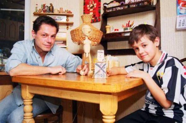 Игорь Скляр со своим сыном