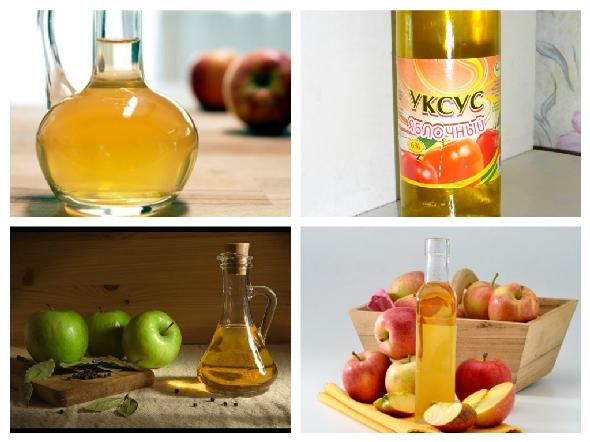 Яблочный уксус применяется для похудения