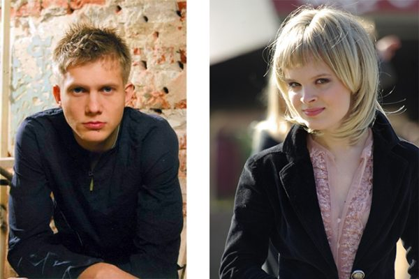 Борис Корчевников и фотомодель Анна Одегова