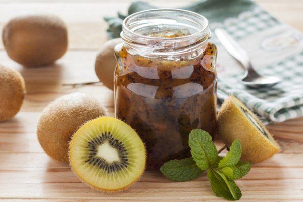 Яблочное варенье с киви