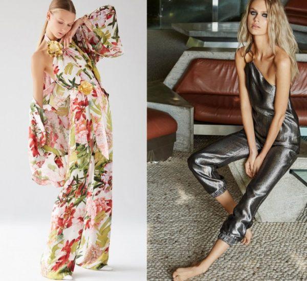 Модные женские комбинезоны весна-лето 2018